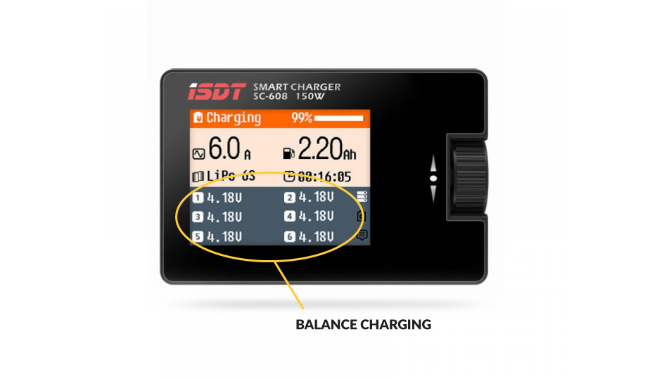 Smart Balance Charger for LiPo Batteries