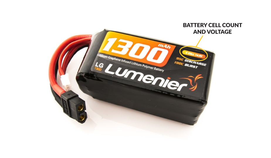 LiPo Battery Cell Count and Voltage