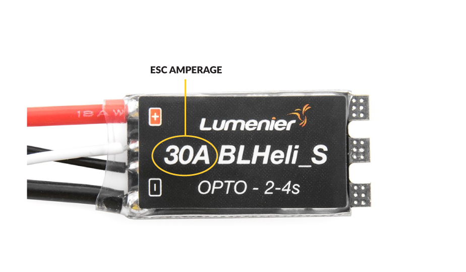 Electronic Speed Controller Amperage