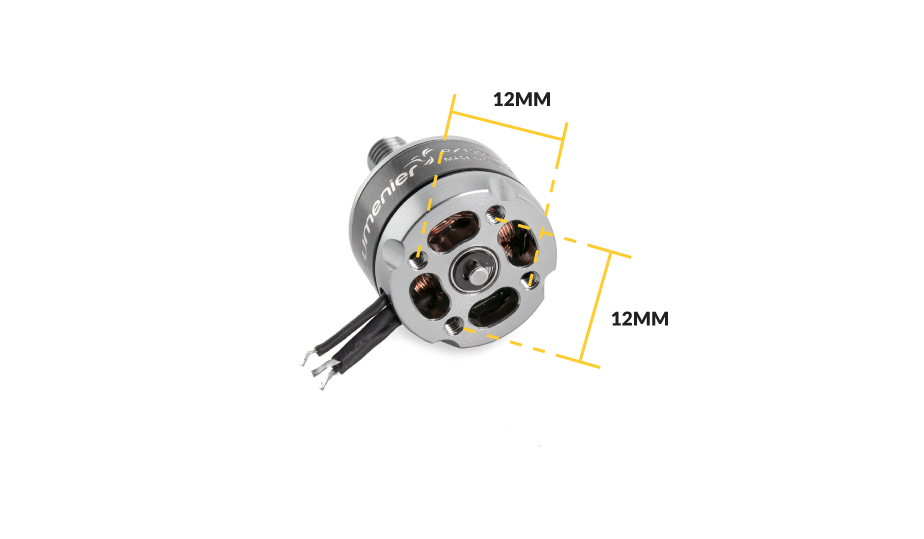 130x Brushless Motor thread sizing