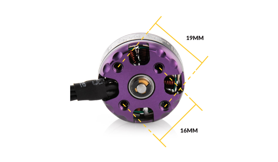220x Brushless Motor thread sizing