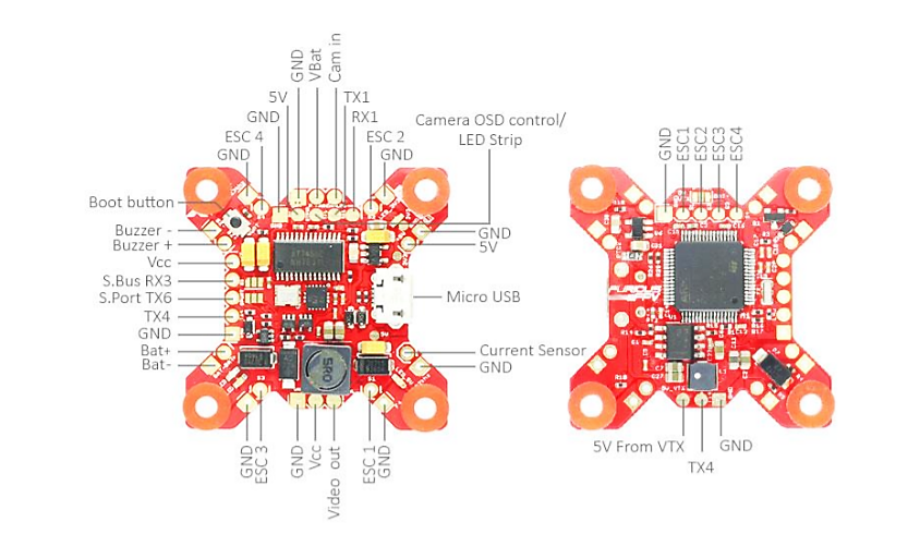 32khz Fortini F4 Osd Flight Controller Review