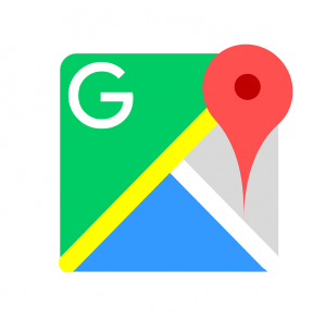 FPV Flying Spot Google maps logo Green Yellow Blue White Grey Red Pin Marker