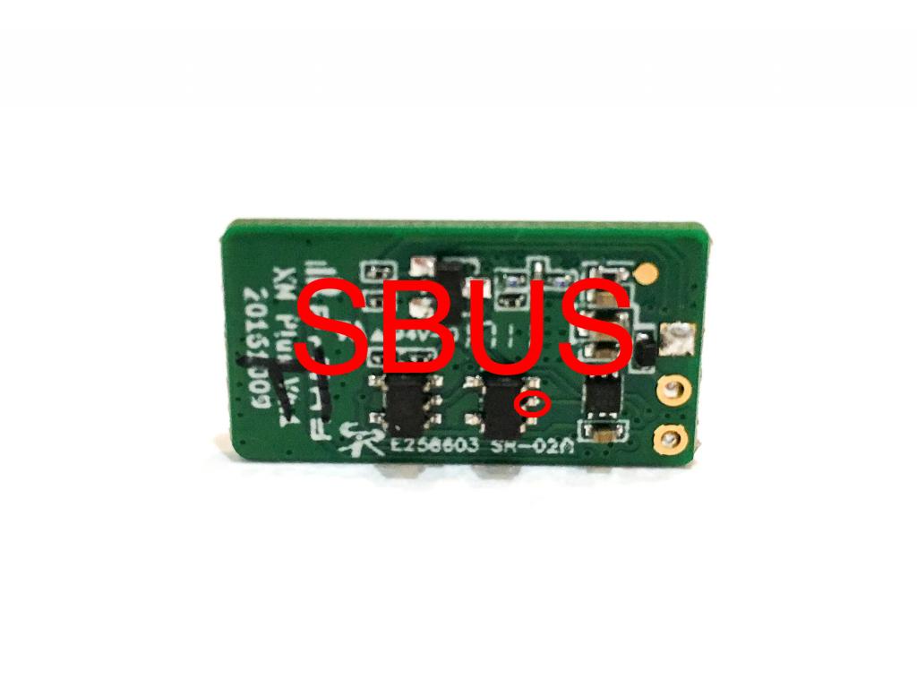 FrSky XM+ Receiver Back Uninverted SBUS