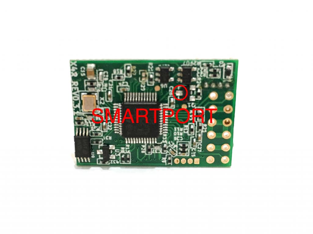 FrSky X4R SBUS Receiver Uninverted Smartport Hack