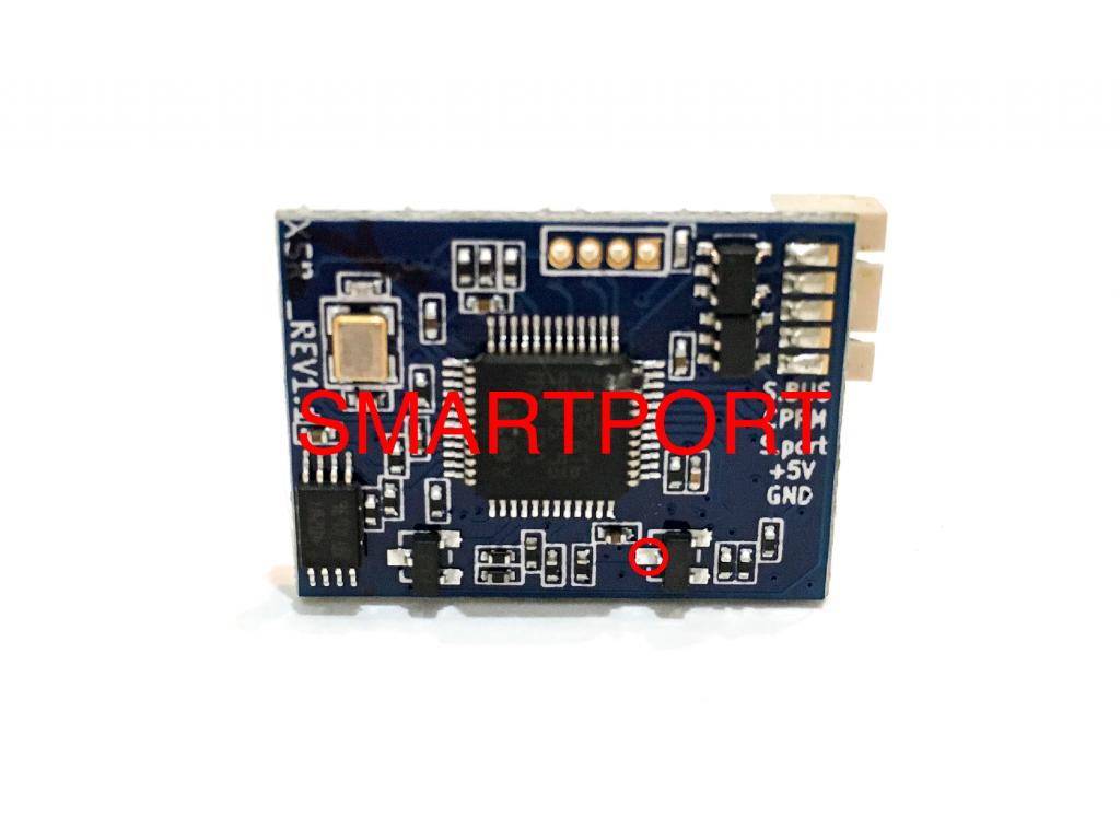 FrSky XSR SBUS Receiver Uninverted Smartport Hack Telemetry