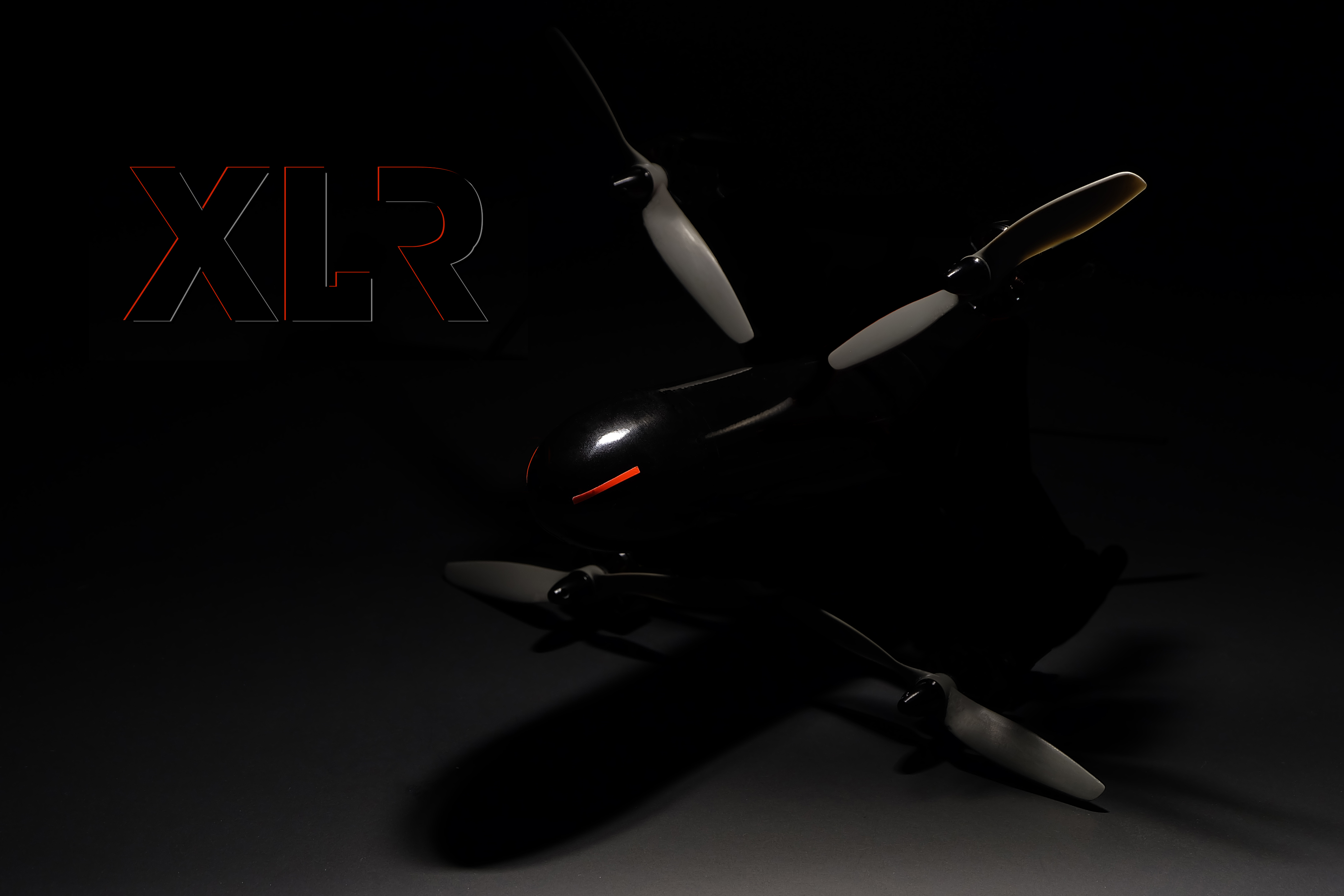 FPV multirotor speed record XLR-1