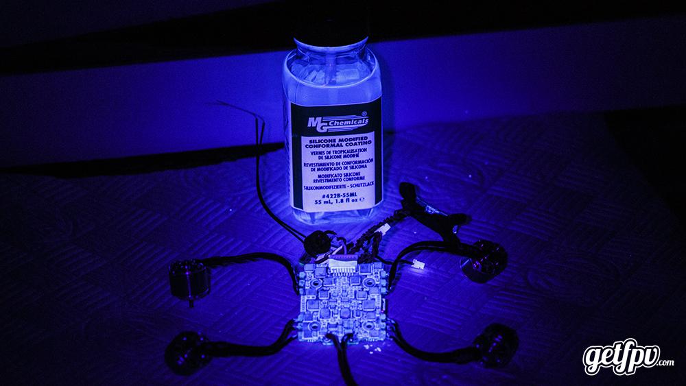 How to Conformal - Conformal coating fluorescing under UV torch