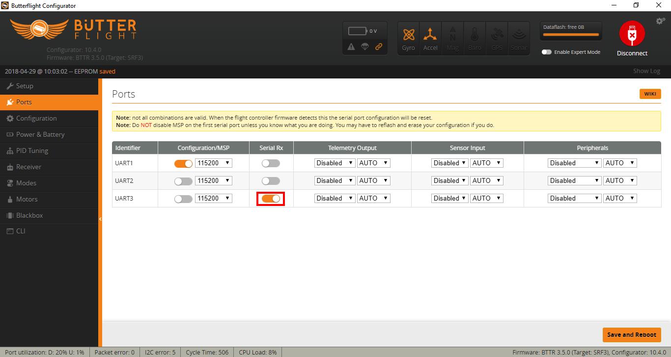 FrSky RSSI Configuration for Betaflight/Butterflight | GetFPV Learn