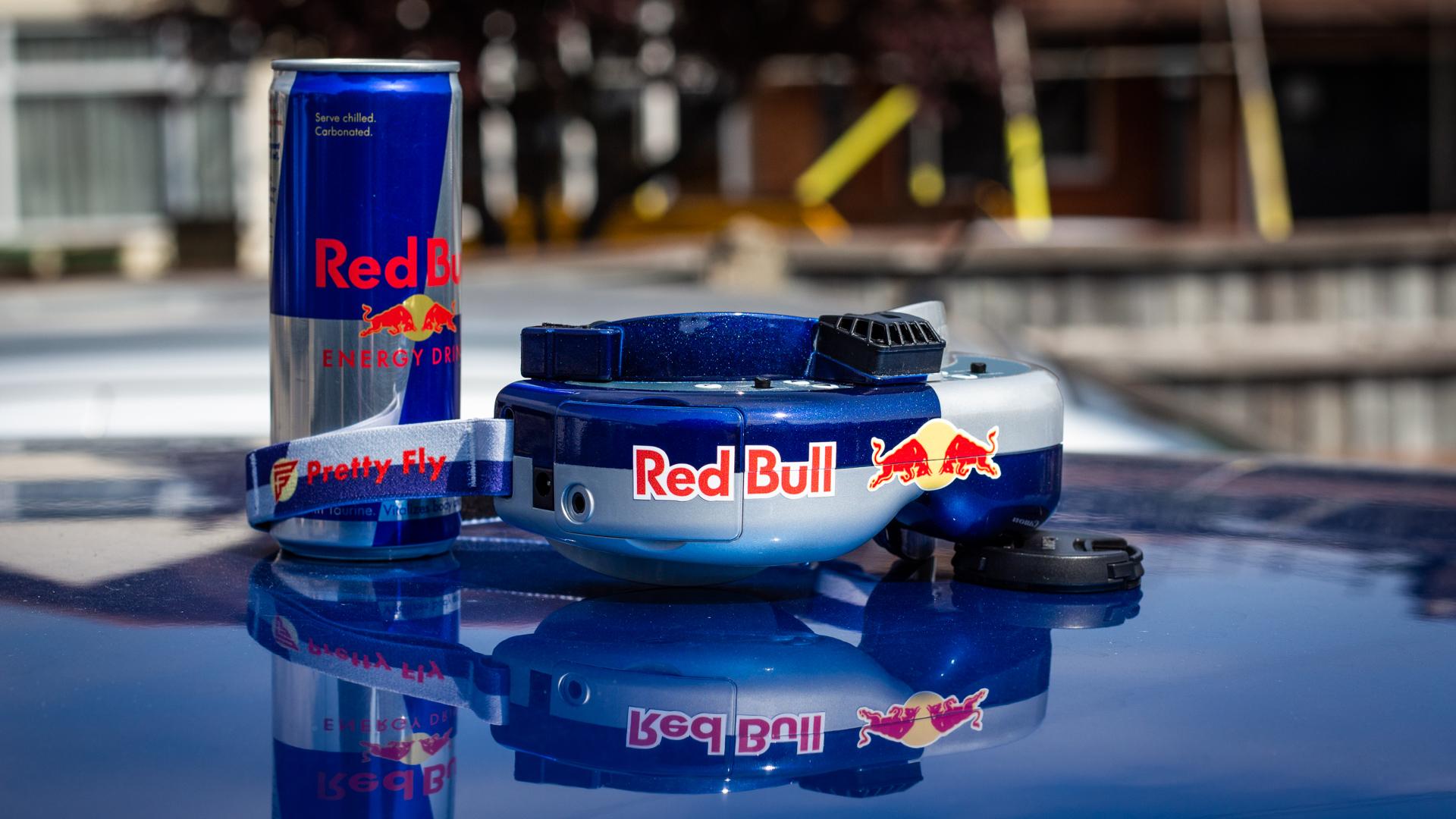 Red Bull FPV goggles