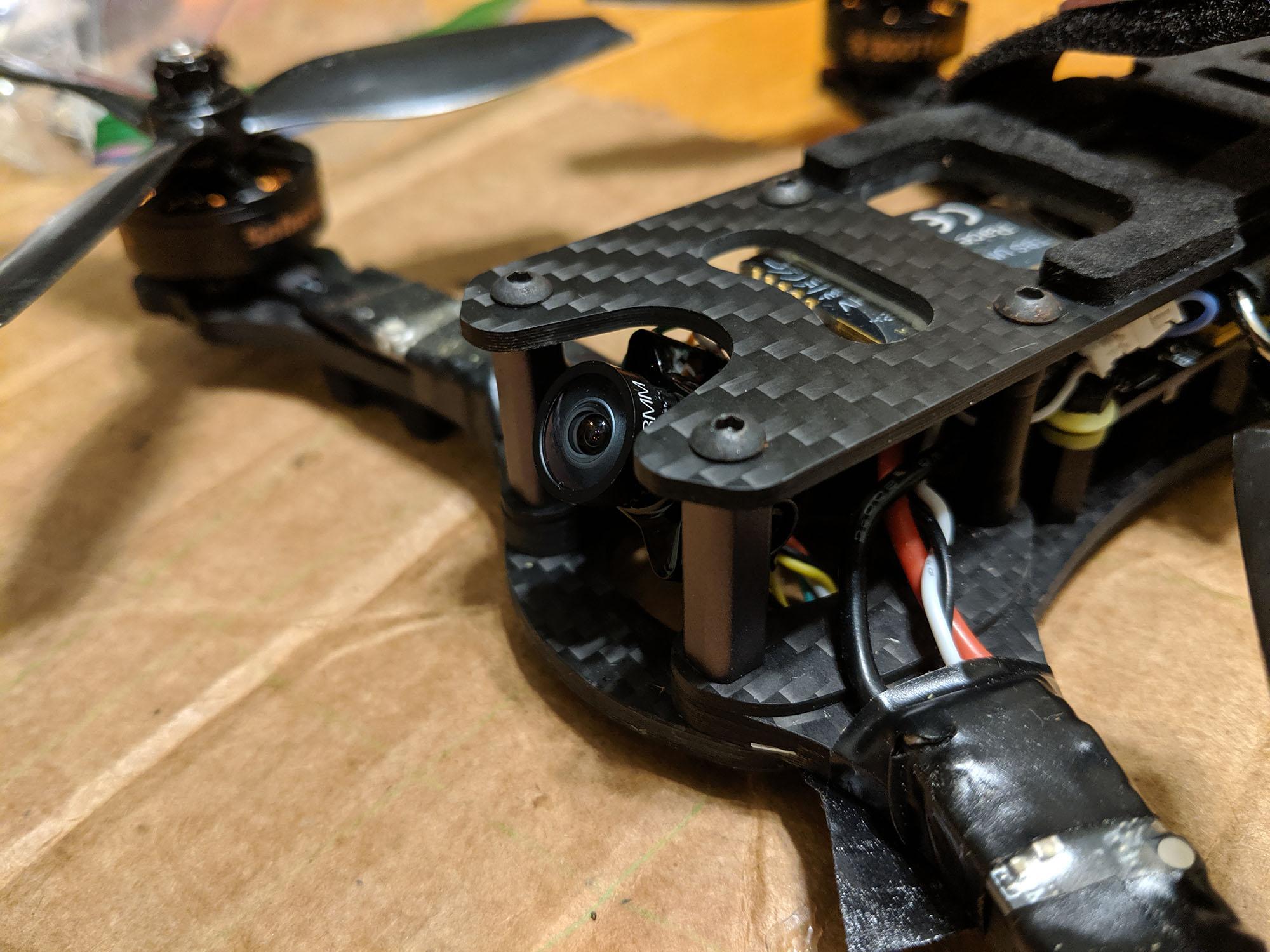 Foxeer Predator Micro V4 installed in freestyle frame