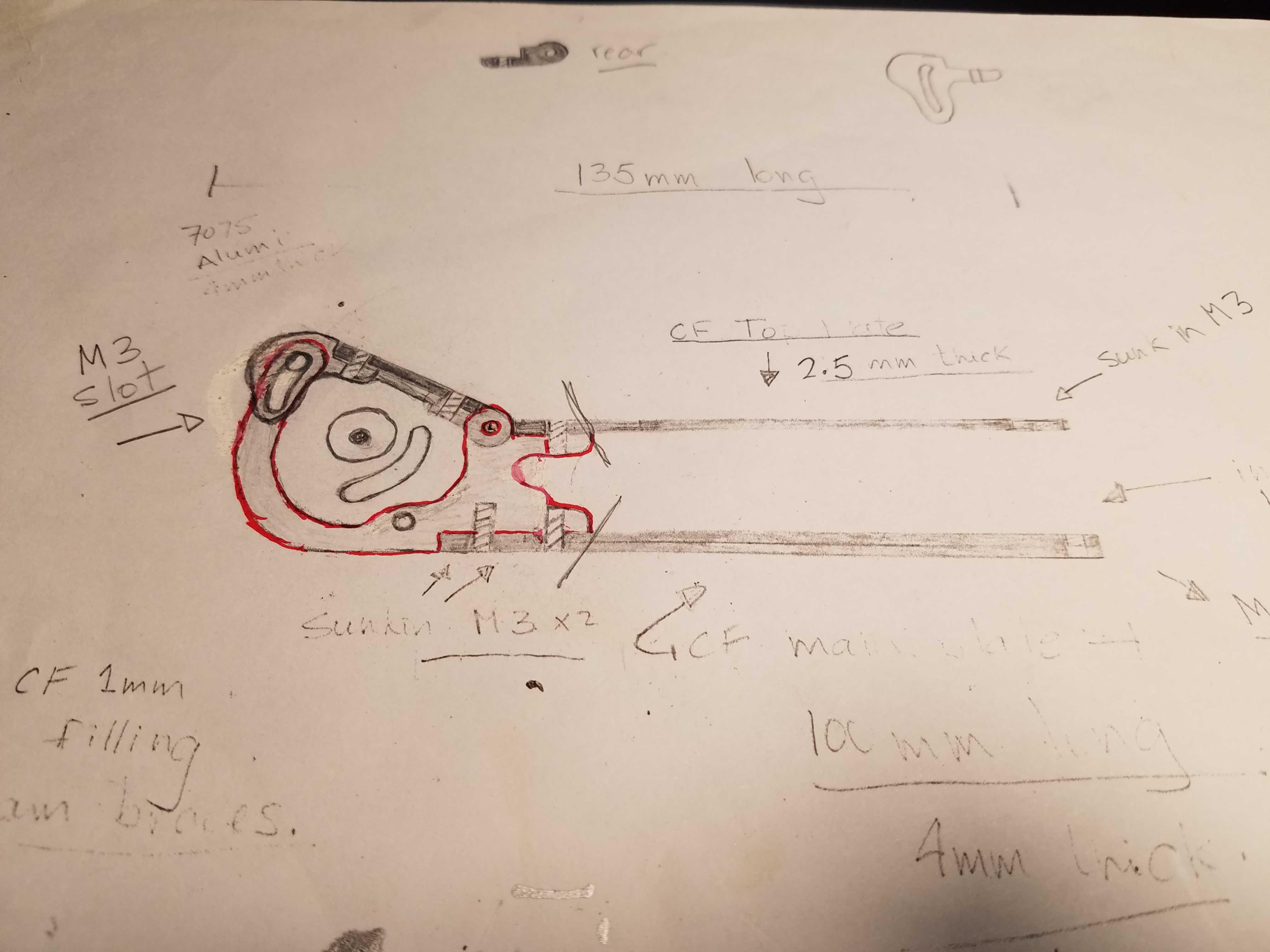 Frame Design - Armattan Chameleon Design Concept