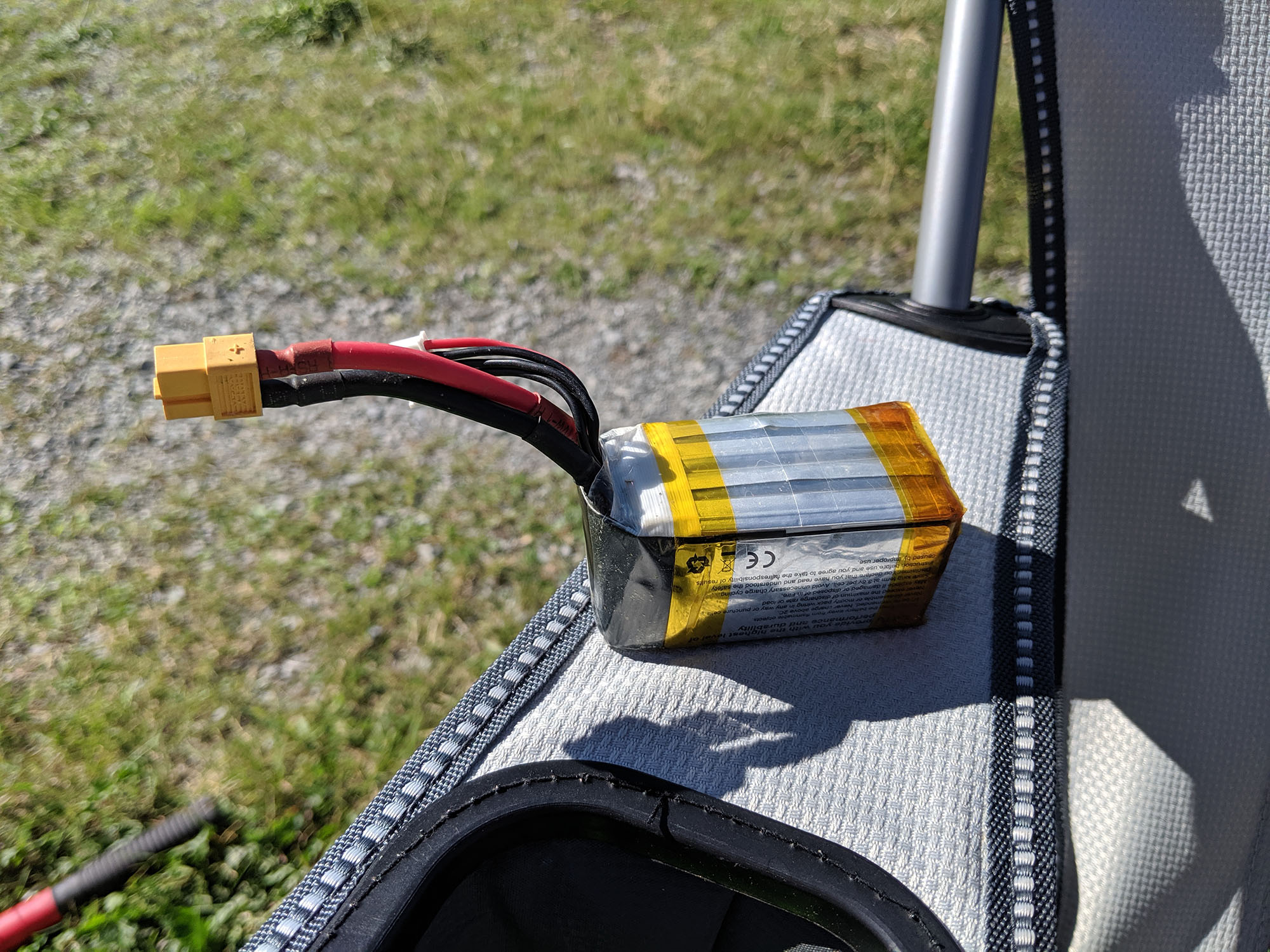 Spec Racing - Puffed 4S Battery