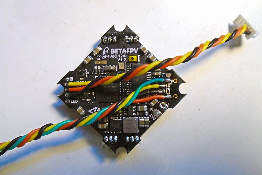 Toothpick - Flight Controller Wiring