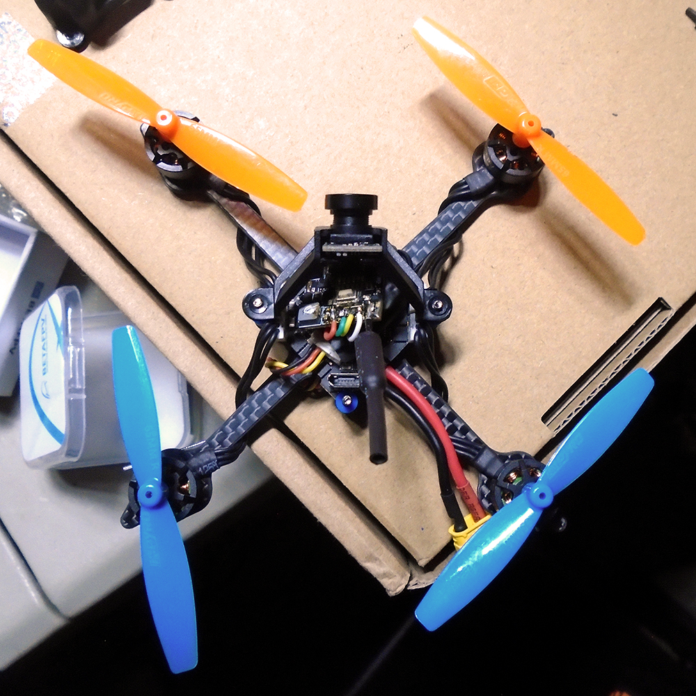 Toothpick - VTX and Camera