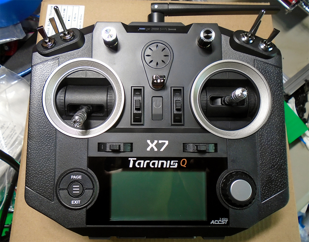 Taranis QX7-Out-of-Box