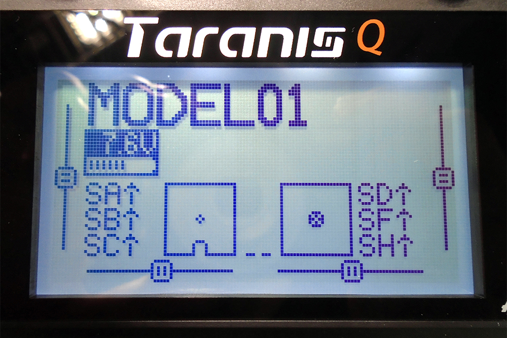 Taranis QX7-LCD-Screen