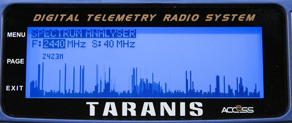 FrSky Taranis X9D Plus SE - Spectrum
