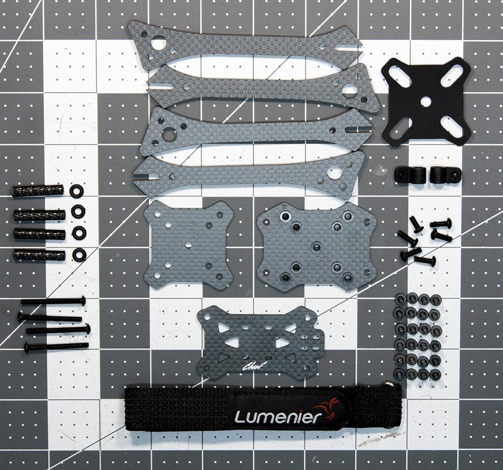 Lumenier Chief-Step-2-Frame-Parts