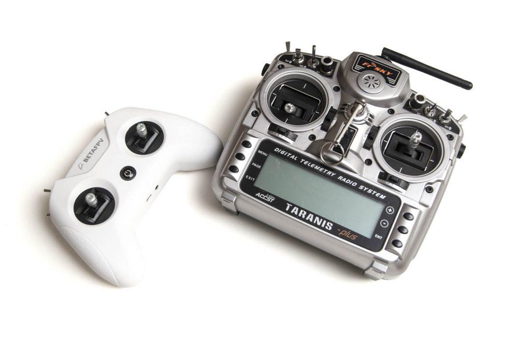 BetaFPV LiteRadio 2 compared to FrSky Taranis X9D+