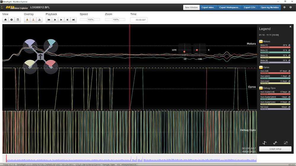 RPM Filtering - Logs