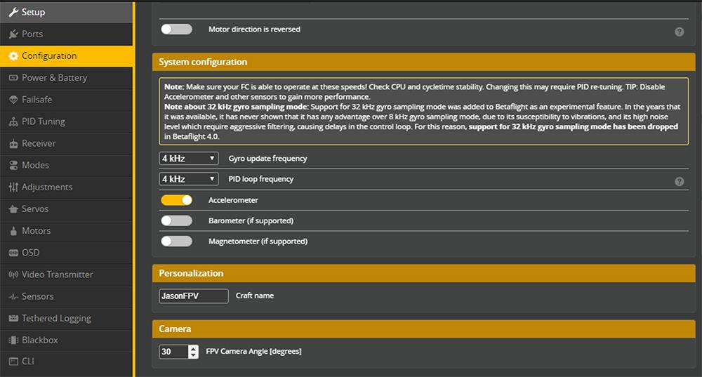 RPM Filtering - Betaflight-3