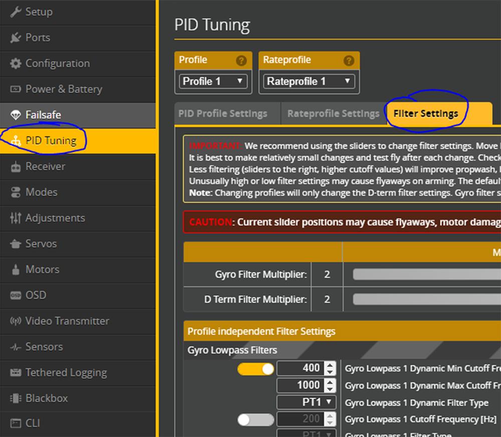 RPM Filtering - Betaflight-5