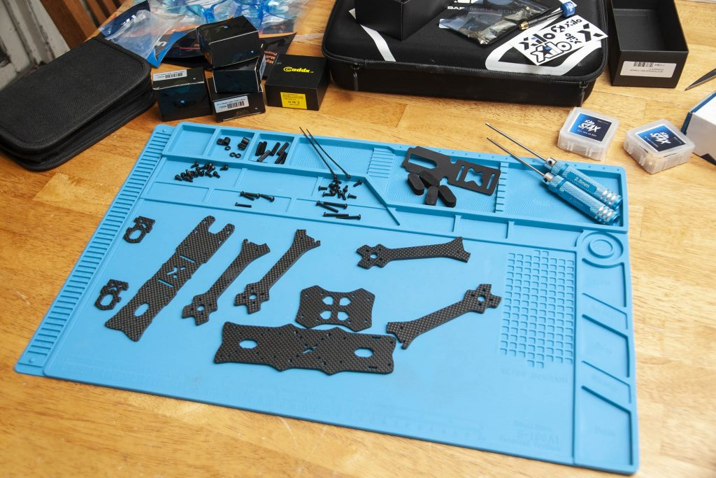 Xile PhreakStyle Build Kit - build area ready