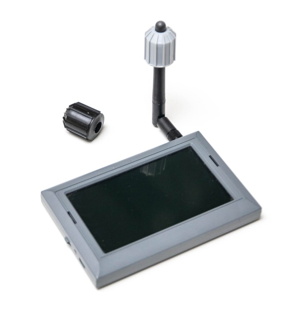 VAS Switchblade attached to standalone FPV monitor