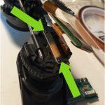 Fatshark HDO2 disassembly: lens retainer
