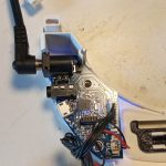 Fatshark HDO2 disassembly: power board connection