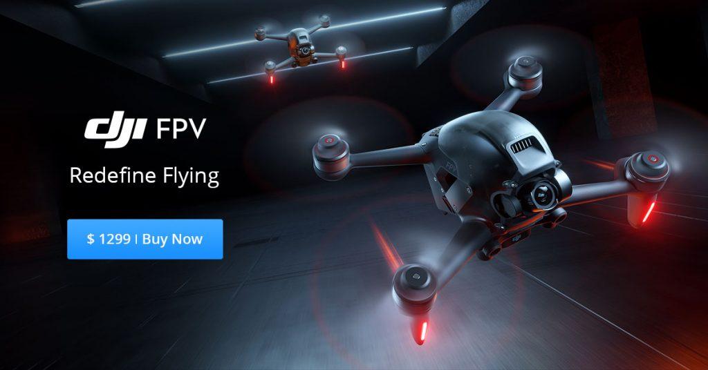 DJI FPV Redefine Flying