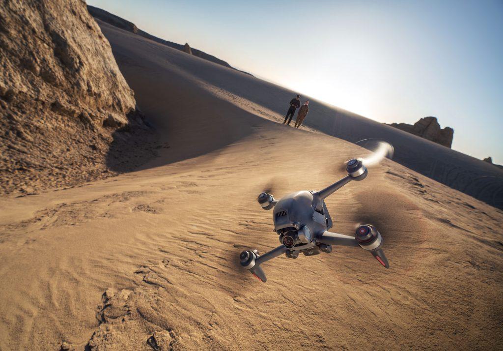 DJI FPV over desert