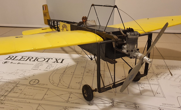 1970s RC model airplane