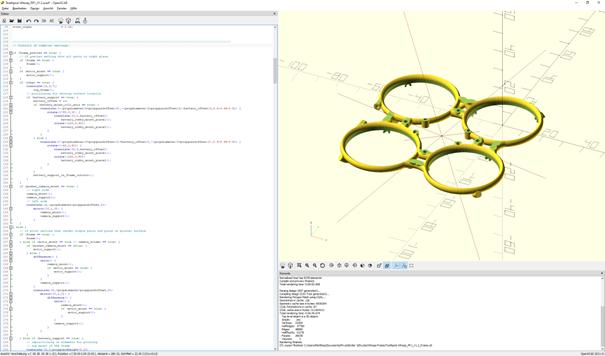Frame design in CAD