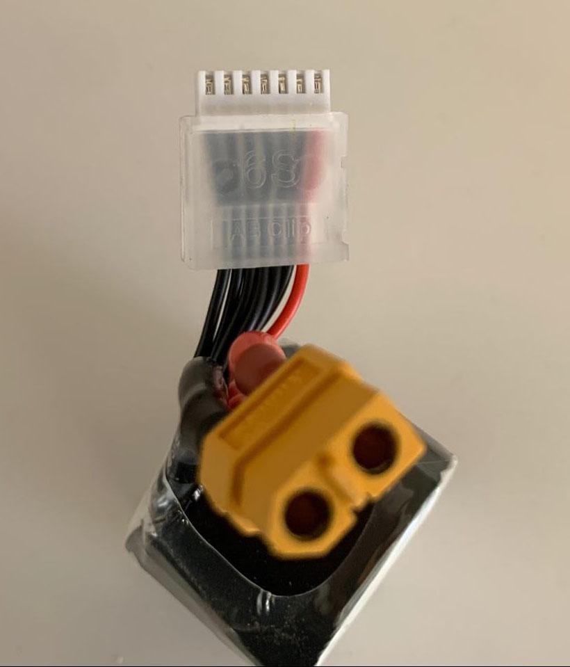 Tattu FunFly 1300mAh 6S battery connectors