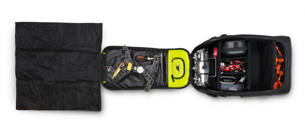 Torvol Quad Pitstop Backpack open view